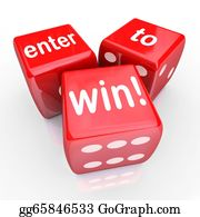 Lottery-Winner - Enter To Win 3 Red Dice Contest Winning Entry
