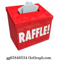 Lottery-Winner - 50-50 Raffle Enter To Win Box Drop Your Tickets