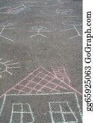Hopscotch - Drawings On Asphalt