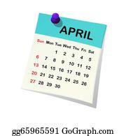 Sheet - 2014 Calendar For April.