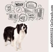 Barking-Dog - Cute Dog With Barking Bubbles