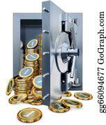 Bank-Vault - Cash