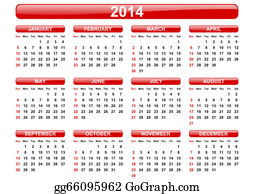 Months-Of-The-Year - 2014 Calendar