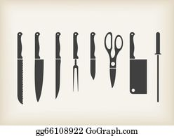 Dinner-Icons - Icons Of Kitchen Knifes