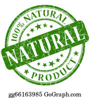 Eco-Friendly-Label - Natural Stamp Green