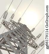Power-Transmission-Line - 3d Power Transmission Line