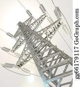 Power-Transmission-Line - High Voltage Post