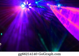 Dance-Of-Lights-In-The-Dark -  Disco. Laser Show.