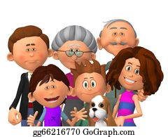 Illustration-With-Happy-Family - Happy Family