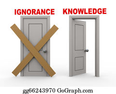 Dumb - 3d Ignoranceand Knowledge Doors