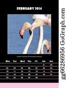 February - Bird Calendar For 2014 - February