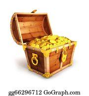 Treasure - 3d Golden Treasure Chest