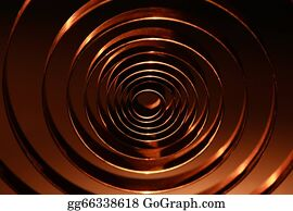 Metal-Spring - Spiral Background