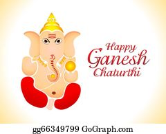 Ganesha - Abstract Ganesh Chaturthi Wallpaper