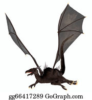 Horned-Lizard - Black Dragon