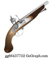 Antique-Pistols - Old Pistol