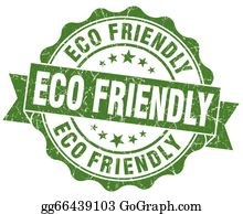 Eco-Friendly-Label - Eco Friendly Grunge Stamp
