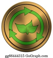 Plant-Life-Cycle - Shiny Metallic Copper-Colored Icon