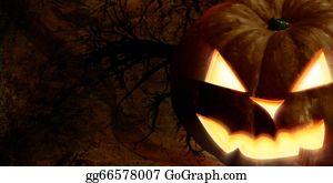 Scary-Pumpkin - Scary Pumpkin Face