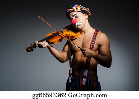 Birthday-Suit - Sad Clown Performing At Vioin