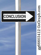 One-Direction-Road-Sign - Conclusion This Way