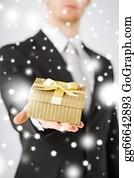 Birthday-Suit - Man Giving Gift Box
