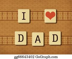I-Love-You-Dad - Fathers Day Tiles