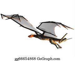 Horned-Lizard - Blue Wasp Dragon Flight