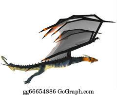 Horned-Lizard - Blue Wasp Dragon