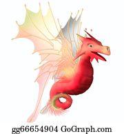 Horned-Lizard - Cranberry Faerie Dragon