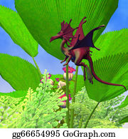 Horned-Lizard - Fury Flying Dragon