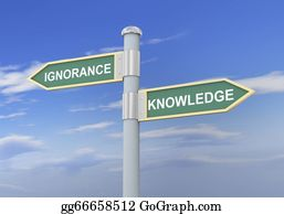 Dumb - 3d Ignorance Knowledge Road Sign