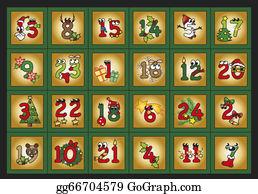 Christmas-Advent-Candles - Advent Calendar