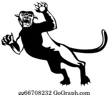 Growl - Panther Attacking