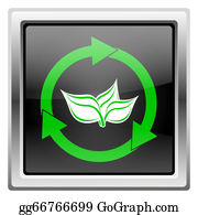 Plant-Life-Cycle - Recycle Arrows Icon