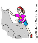 Rock-Climbing-Woman - Climbing Girl