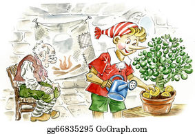 Flower-Pot - Pinocchio