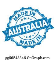 Australia - Made In Australia Grunge Seal