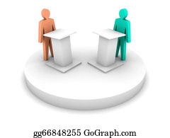 Public-Speaking -  Debate. Speaking From A Tribune