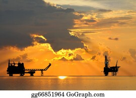 Drilling-Rig - Oil And Gas Platform