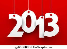 2013-Happy-New-Year-Happy-New-Year - 2013 On Red Background