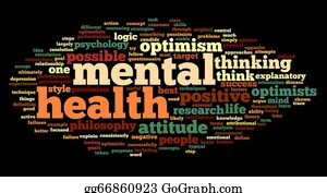 Health-Care - Mental Health In Word Tag Cloud