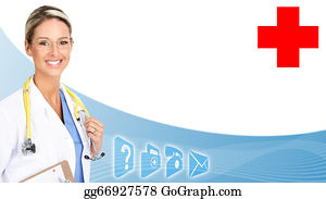 Health-Insurance-Card - Smiling Medical Doctor Woman.