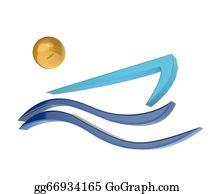Canoe - Boat And Sun Logo Image