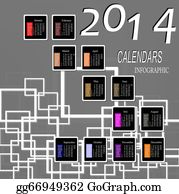 Happy-New-Year-2014 - Infographic Calendars
