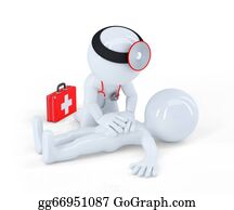 Cpr - Doctor Providing First Aid