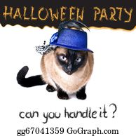 Humor - Halloween Party Banner Funny Edgy