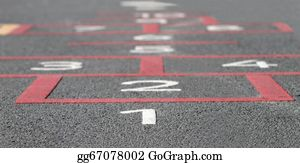 Hopscotch - Hopscotch Background