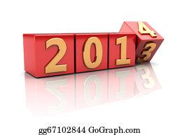 Calendar-For-January-2014 - Year Change