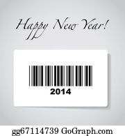 Happy-New-Year-2014 - 2014 Barcode